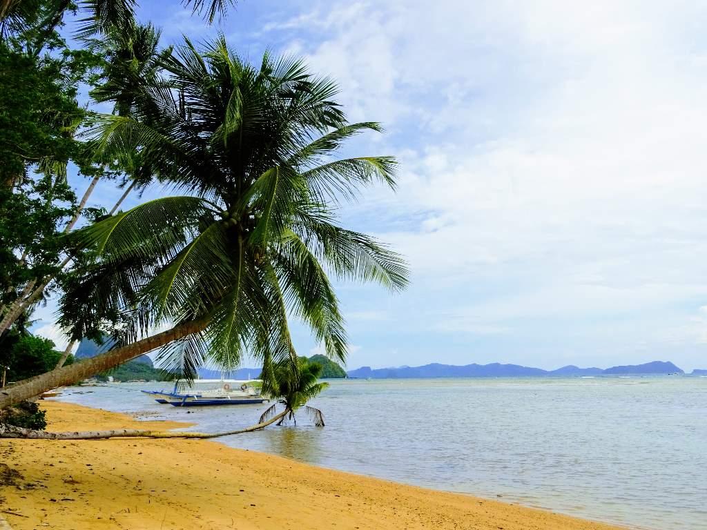 Corong Corong Beach, El Nido